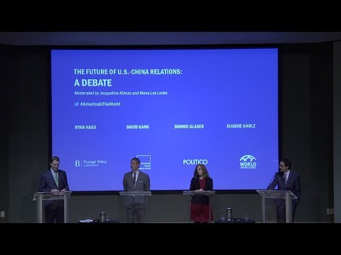 The Future of U.S.-China Relations: A Debate