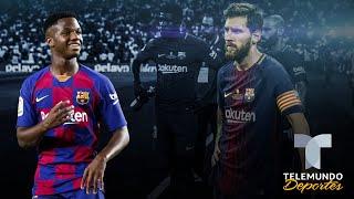 Etiquetan a Ansu Fati como El nuevo Messi en Italia Telemundo Deportes
