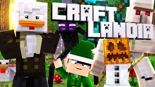 Minecraft: CRAFTLÂNDIA - VENHA JOGAR COMIGO ! - PIRATA/ORIGINAL ‹ Frango ›