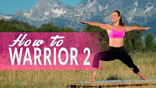How To Warrior II Pose or Virabhadrasana II with Adi Amar