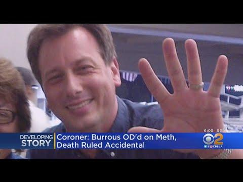 Coroner: KTLA Anchor Chris Burrous Died Of Meth Overdose