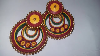 How to make paper quilling chandbalis