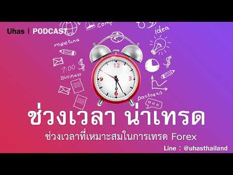 ช่วงเวลา Forex ที่น่าเทรด - Uhas #PODCAST EP. 8