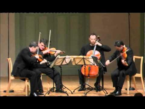 Jerusalem Quartet - J. Brahms, String Quartet Op. 51 NO. 2 - 1. Allegro non troppo