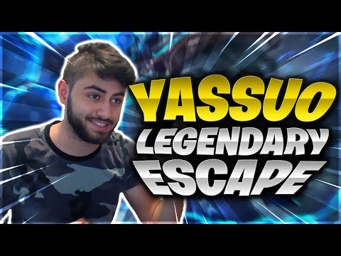 YASSUO LEGENDARY ESCAPE | TWITCH RIVALS SCRIMS | TRICK2G SHOTCALLING | TF BLADE 1V9 | LoL Moments
