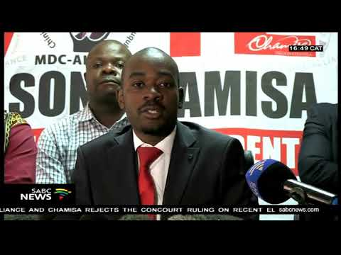 Zimbabwe's Chamisa rejects Concourt ruling, UN responds