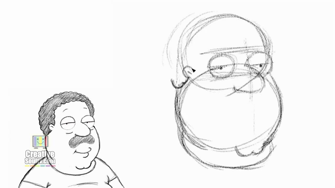 how to draw family guy characters youtube