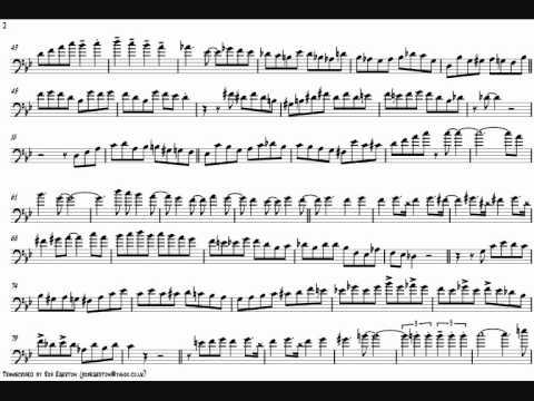 Bob McChesney 'Sultry Samba' Trombone Solo Transcription