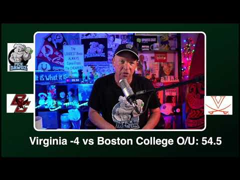 Virginia vs Boston College 12/5/20 Free College Football Picks and Predictions CFB Tips