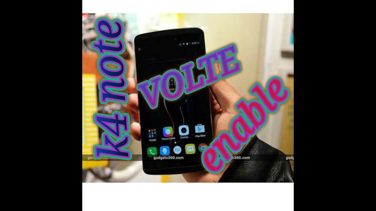 Enable VOLTE in lenovo k4 note 100% WORKING   full video     full guideline  l