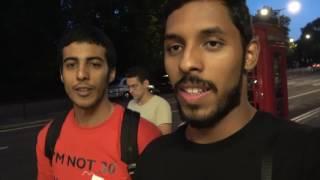 كنت اكره عمر حسين | First time in london