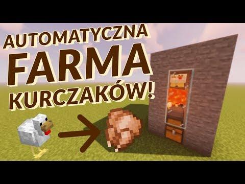Automatyczna Farma KURCZAKÓW! - MINECRAFT 1.14 PORADNIK