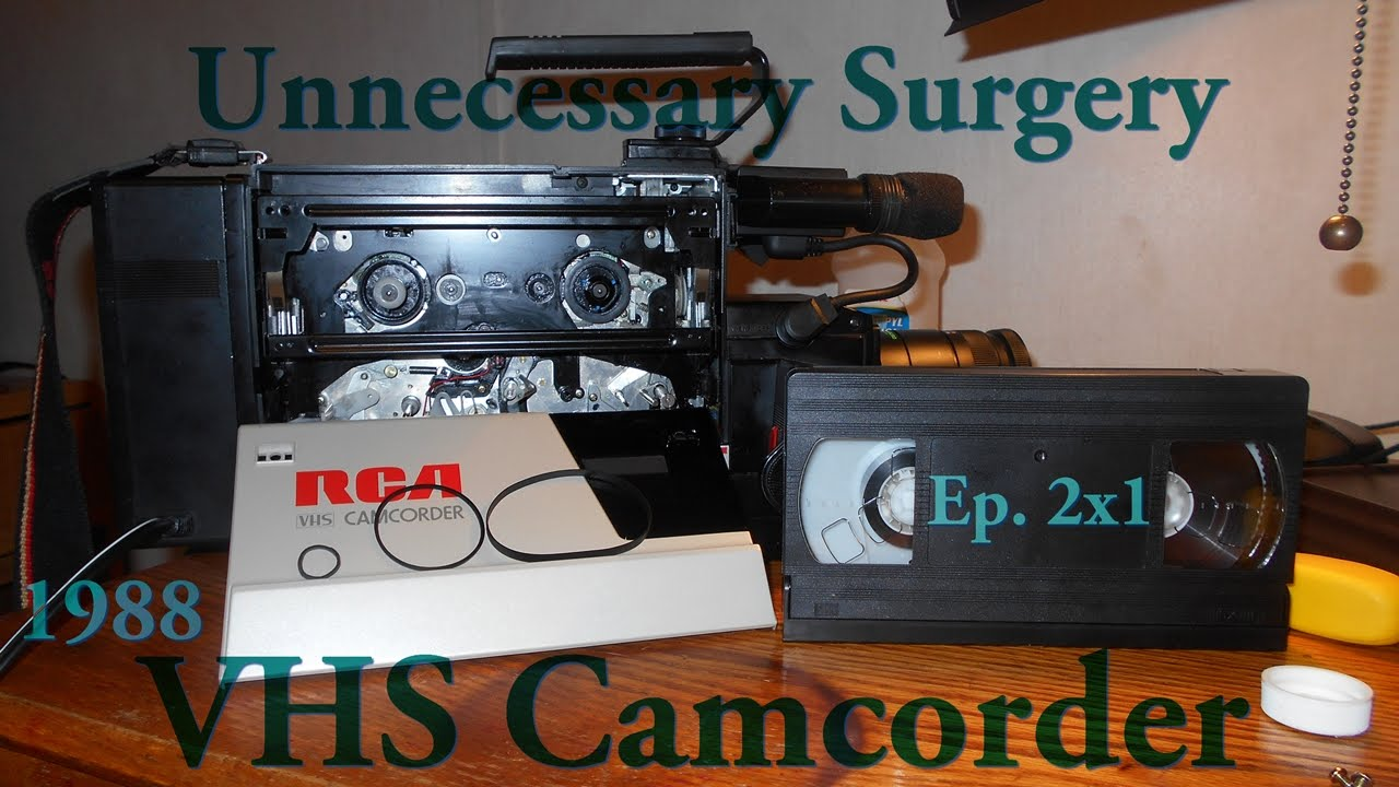 1988 Vhs Camcorder Repair - Unnecessary Surgery