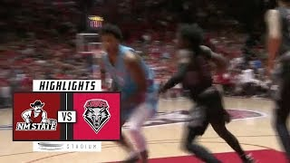 New Mexico State vs. New Mexico Basketball Highlights (2018-19) | Stadium