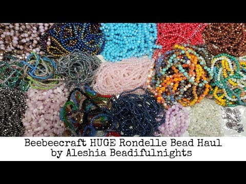 Beebeecraft HUGE Rondelle Bead Haul
