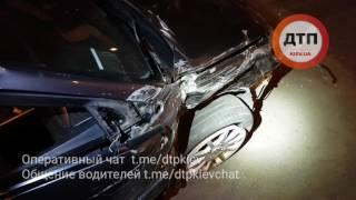 20.04.2017 ДТП КИЕВ ШЕВЧЕНКО МИТСУБИШИ ХУНДАЙ ОГРАДА 2