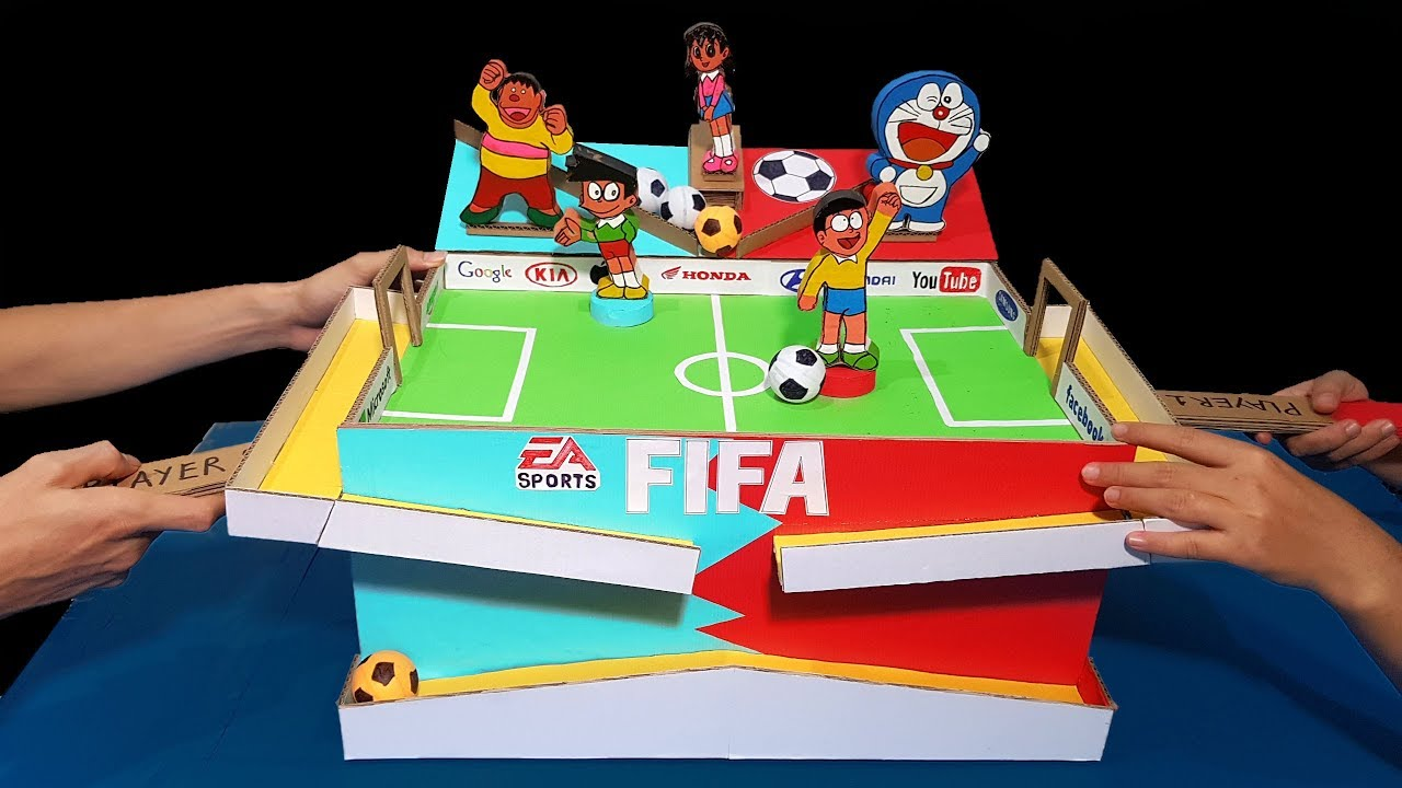 How to Build Amazing Football Table Game for 2 Players ...