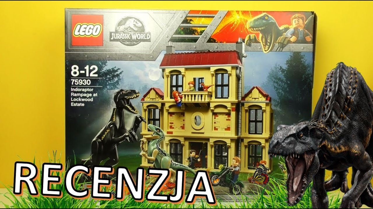 Lego Jurassic World Atak Indoraptora 75930 Recenzja Youtube