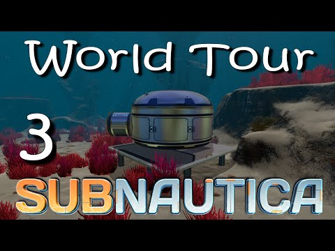 """Subnautica - World Tour - Ep 3 - """"Rabid Monsters in the Grassy Plateau!"""""""