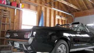1965 Ford Mustang Cold Start