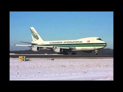 エバーグリーン航空の使用機材【2014年1月現在】 Evergreen International Airlines