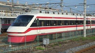【東武特急りょうもう号 200系 201F 運用離脱中】先日まで 東武800系 805Fが留置されていた場所に留置