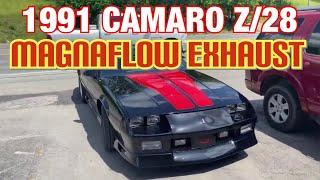 1991 Chevy Camaro z28 DUAL EXHAUST w FULL MAGNAFLOW SYSTEM!