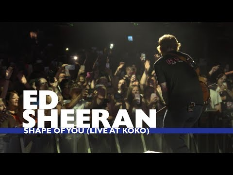 Thumbnail: Ed Sheeran - 'Shape Of You' (Live At Capital Up Close)