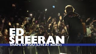 Ed Sheeran 'shape Of You' Live At Capital Up Close