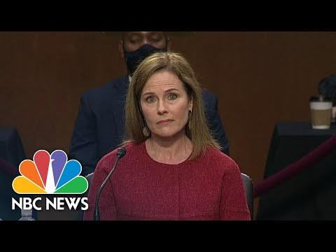 'I'm Committed To The Rule Of Law': Barrett Discusses Decision To Accept Nomination | NBC News