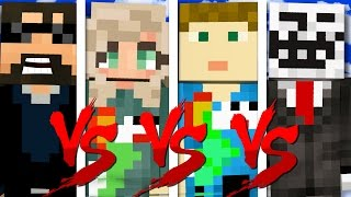 I HAVE NO FRIENDS CHALLENGE | Minecraft Bed Wars 1v1v1v1 thumbnail