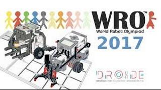 Готовимся к соревнованиям WRO 2017 Junior Hight