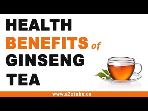 Ginseng Tea Health Benefits