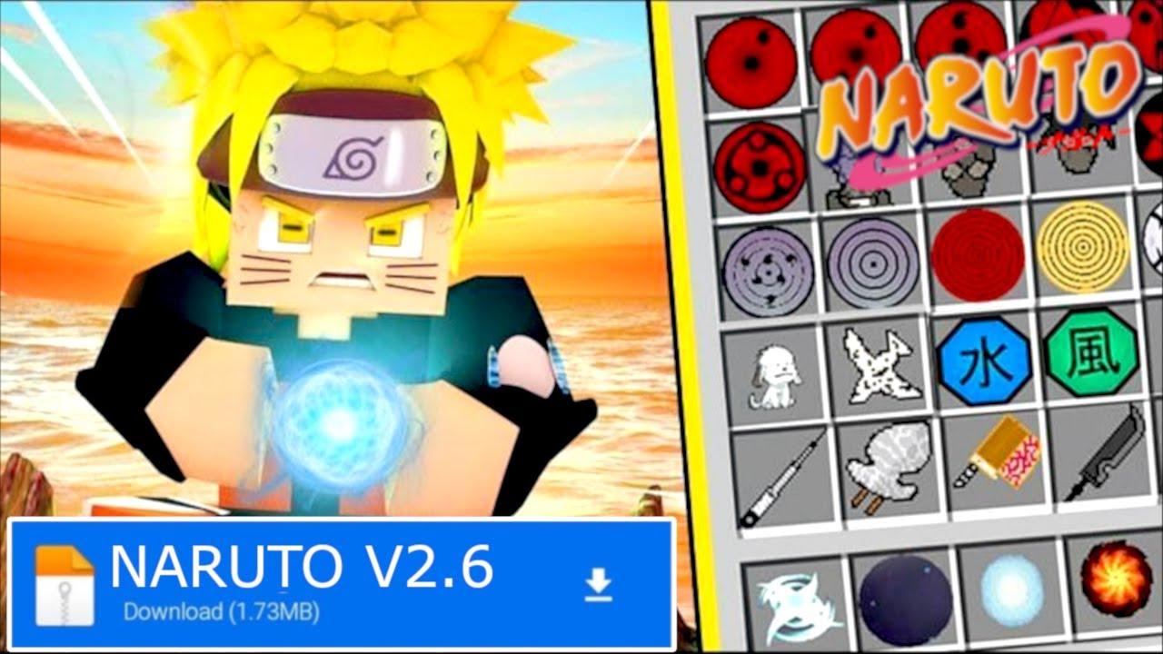 How to Download Naruto Addon in Minecraft    Minecraft Naruto Mod