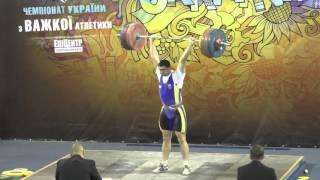 #weightliftinng Чемпионат Украины ШВСМ-турнир И.Рыбака категория 105 кг.
