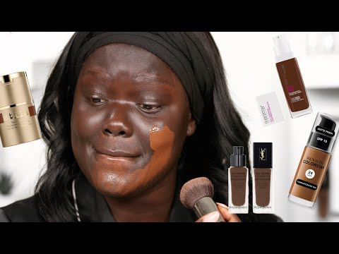 Mixing Together 15 FOUNDATIONS with the name ESPRESSO!  Nyma Tang