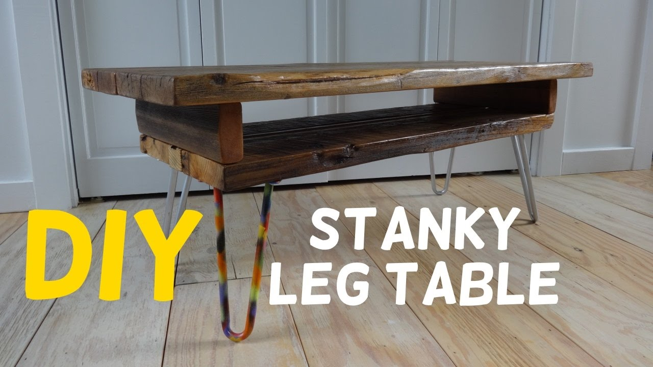 Simple Stanky Leg Barn Wood Table Build!