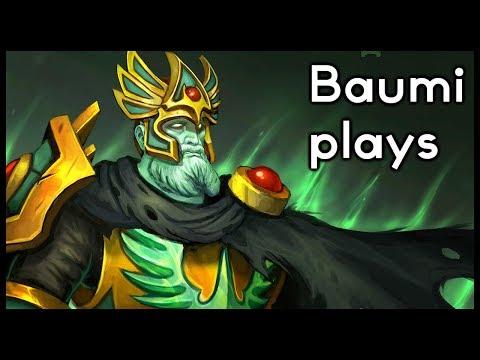 Dota 2   ONE LAST ROUND OF CRYSTALIS!!   Baumi plays Wraith King