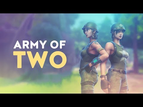 ARMY OF TWO Ft. Tfue | 2v20+ - 50vs50 MODE (Fortnite Battle Royale)
