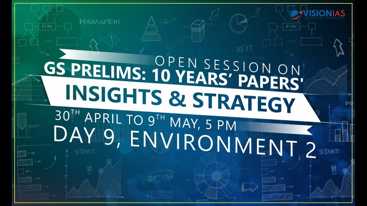GS Prelims : 10 Years' Papers' Insights & Strategy | Part 9