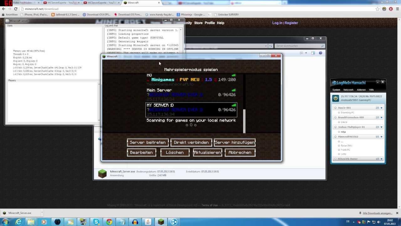 Minecraft Spielen Deutsch Minecraft Server Erstellen Pc Bild - Minecraft server erstellen
