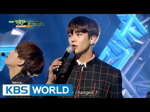 SF9 - easy love (쉽다) [Music Bank / 2017.04.28]