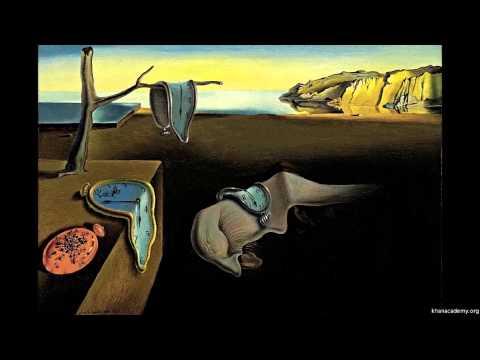 """Salvador Dali, """"Belleğin Azmi"""" (Eriyen Saatler) (Sanat Tarihi / Dışavurumculuktan Pop-Art'a)"""