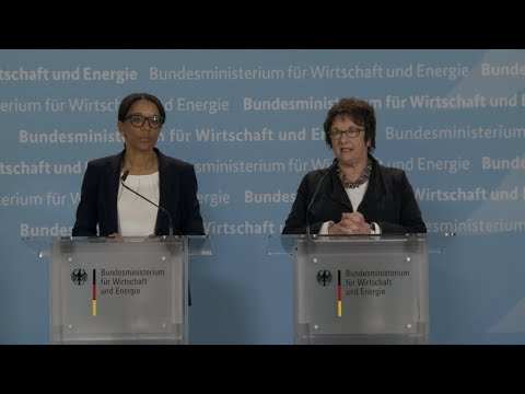 Bundesministerin Zypries und Personalvorstand Kugel zum geplanten Personalabbau bei Siemens