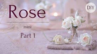 dIY: Роза из пластичной замши // Часть 1 // (foam Eva)