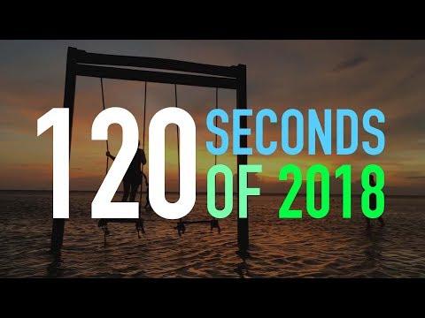 120 seconds of 2018 - концерты и путешествия года