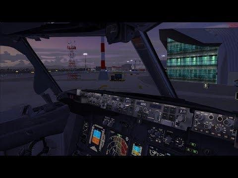 FSX SE VRyanair PMDG 737 NGX   Cagliari - Brindisi - Verona [ Italian Hops ] Vatsim