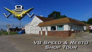 V8 Speed & Resto Shop Tour V8TV Video Muscle Car Restoration