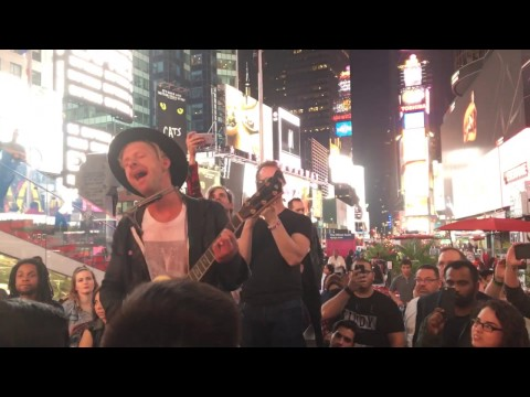 Your Love Is Strong - Jon Foreman, in Times Square