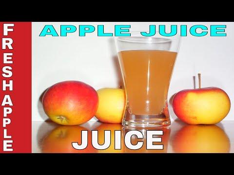 How To Make Fresh Apple Juice || Homemade Apple Juice